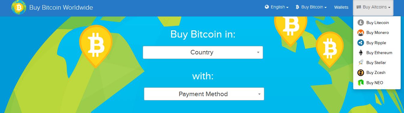 Buybitcoinworldwide: أين وكيف لشراء عملة معماة في جميع أنحاء العالم